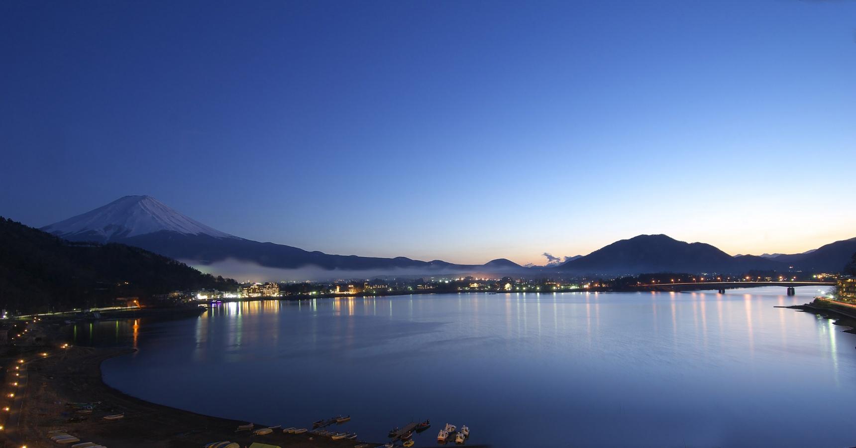 远在天边,近在眼前——可远眺富士山绝景旅馆5选