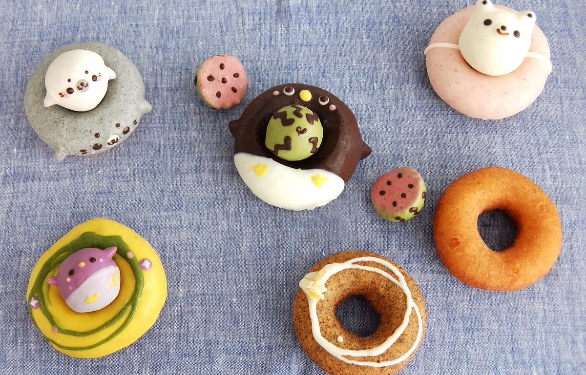 超级可爱的动物甜甜圈 ikumimama & floresta