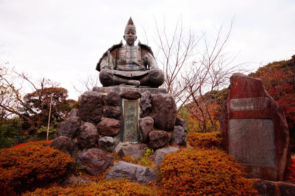 【源氏山公园】 赏红叶最佳!想在红叶中散步就来这里!