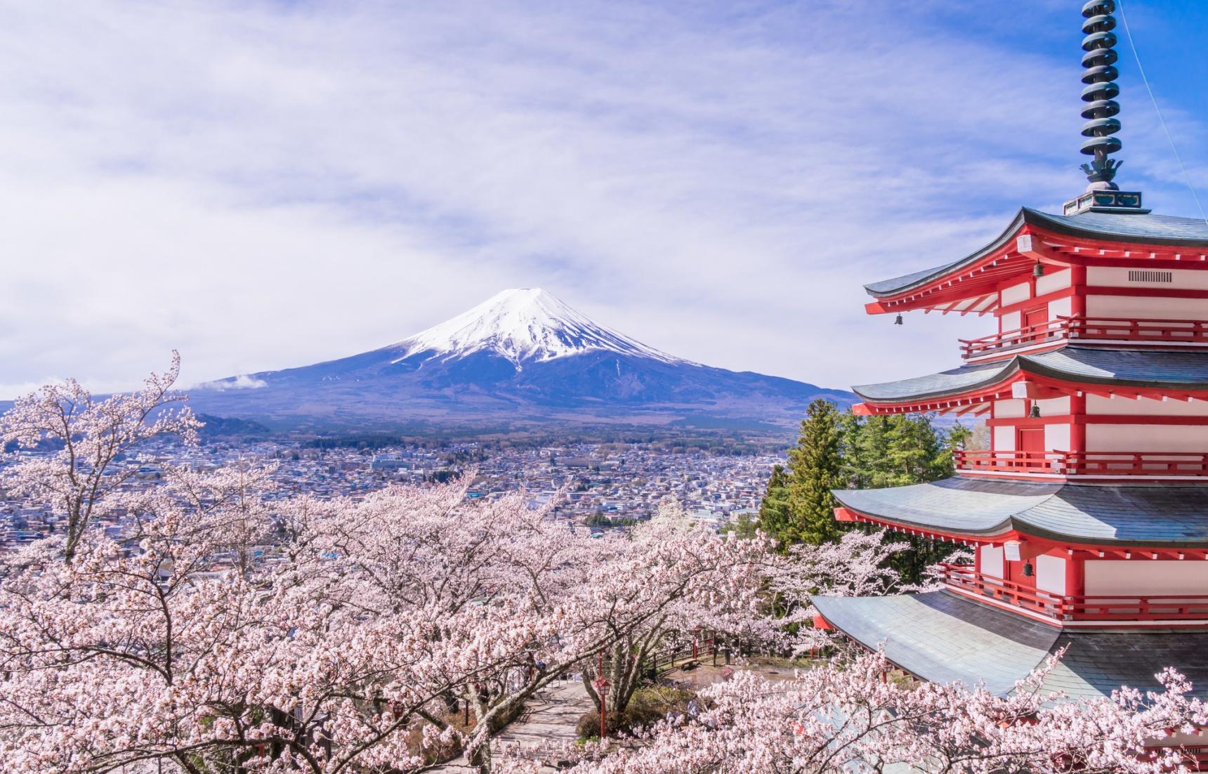 欣赏富士山的最好去处ー新仓山浅间公园