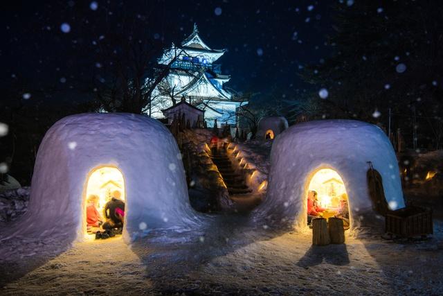 5. 横手市镰仓(秋田县)— 每年2月15日至16日