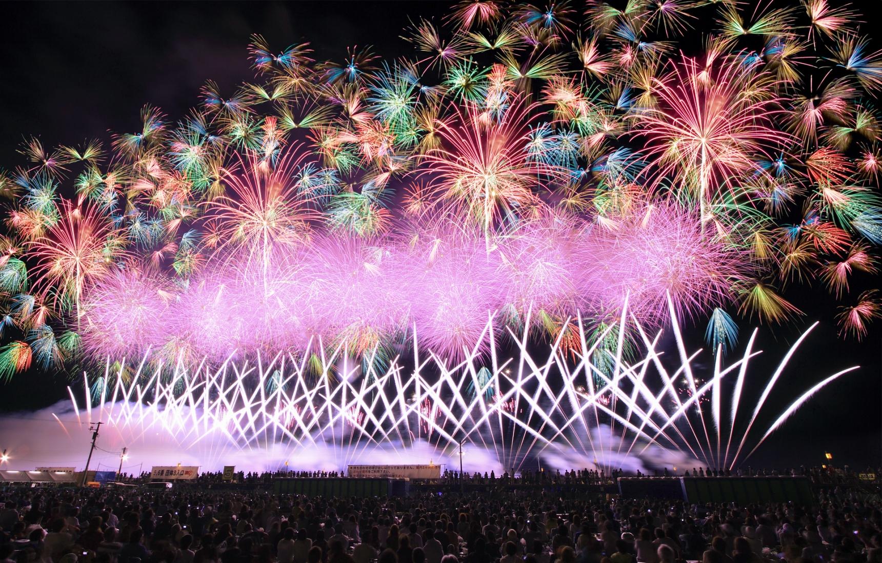 智游人|最棒的夏日回忆!日本大曲市花火大会