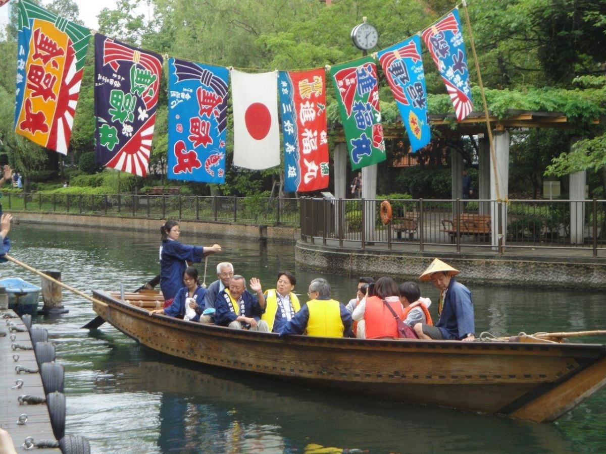 东京横十间川亲水公园|免费和船乘船体验