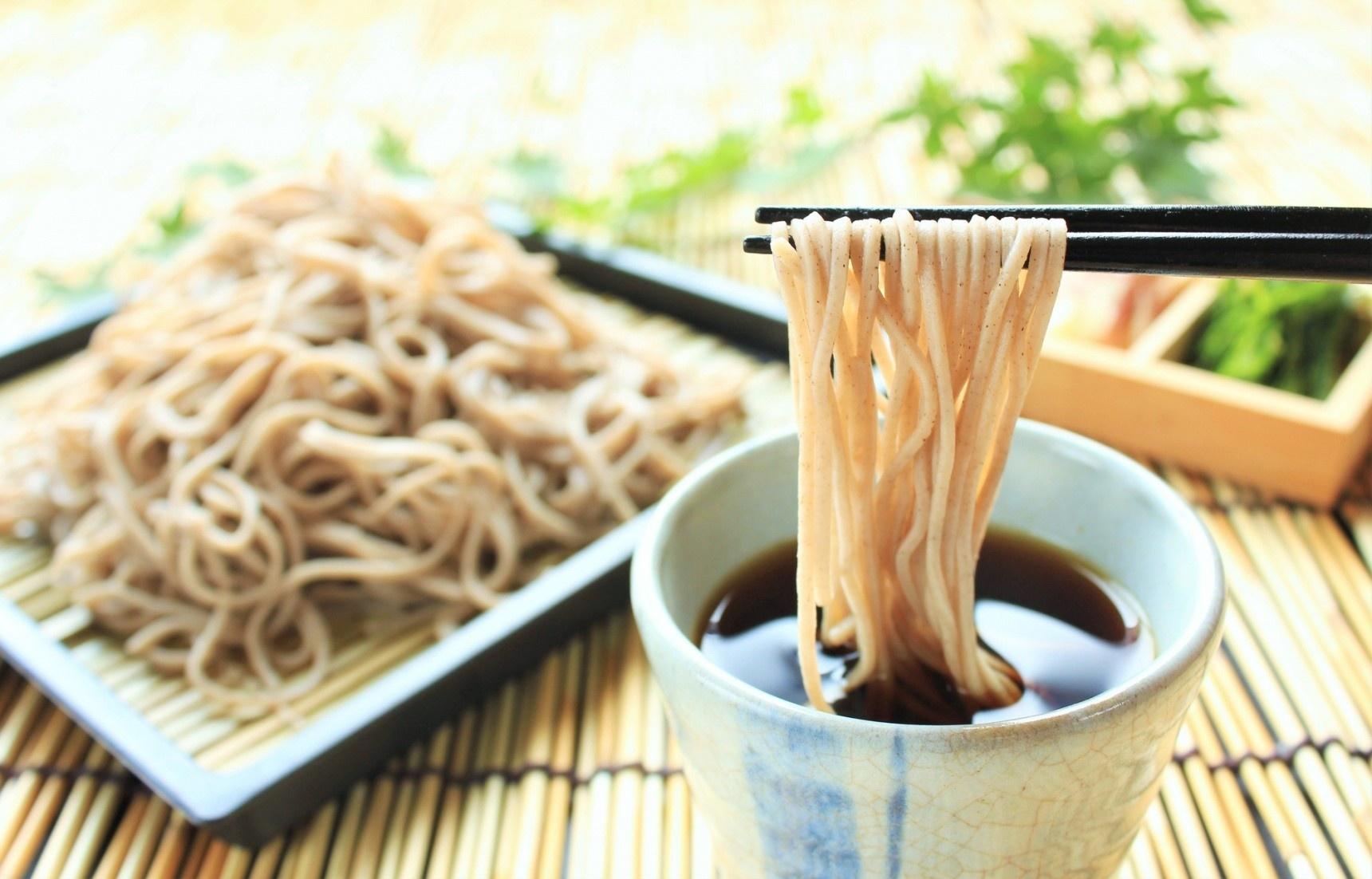 日本美食:暑气全消无敌清凉荞麦沾面!(附超养生荞麦知识)