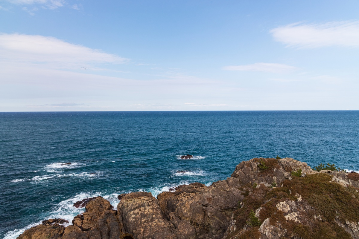 八户:这里的海,蓝的像深情的眸